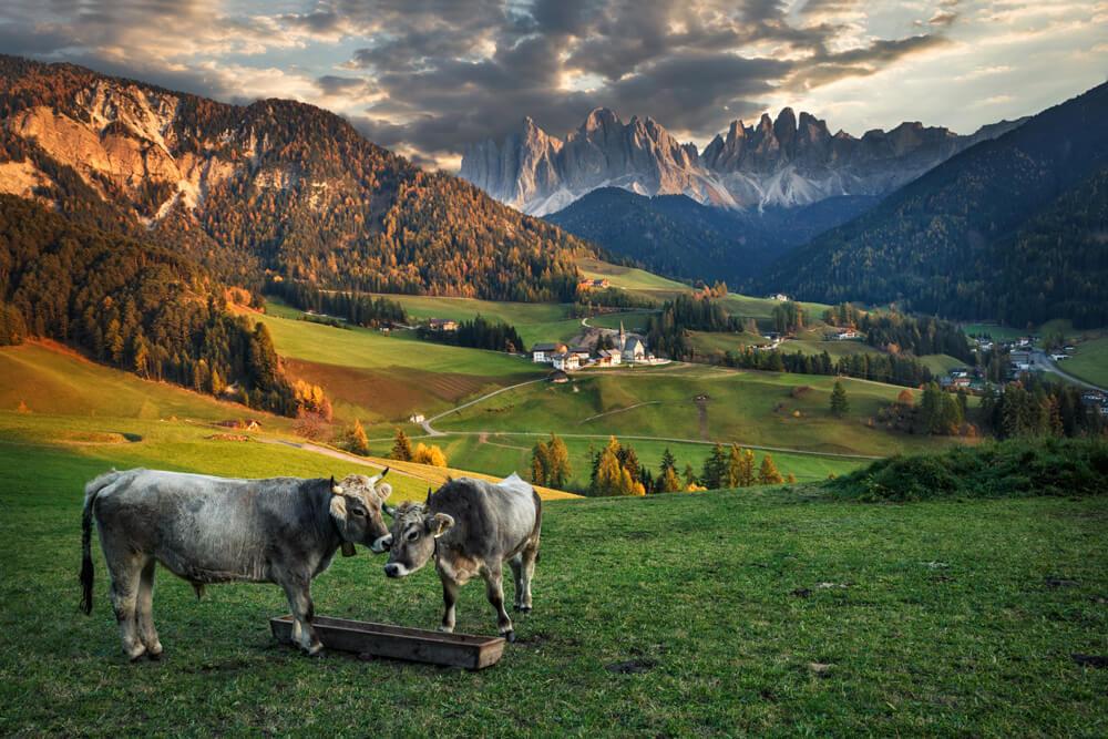 Luboš čerešňák - Santa-Magdalena-Dolomiti-Taliansko