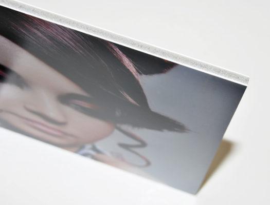 Kapa plast odlahcena doska na kasirovanie obrazov