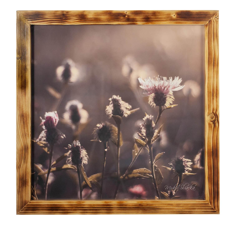 Mirka Sliacka – Kvety 65x65cm